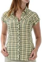 Royal Robbins Peasant Plaid Shirt - Short Sleeve (For Women)