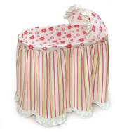Badger Basket Embrace Baby Bassinet With Bedding Set
