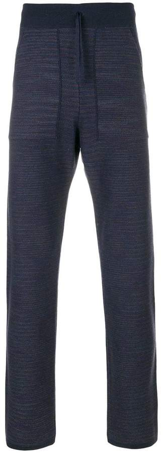 Missoni drawstring waist track pants