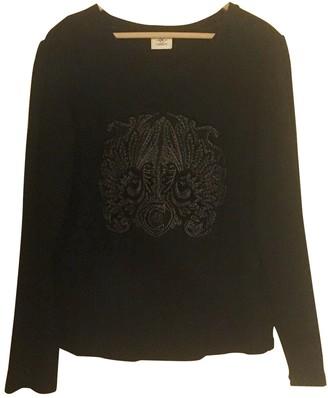 Cerruti Black Cotton Top for Women