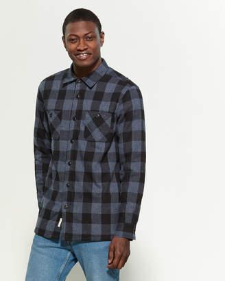 Weatherproof Vintage Sherpa Fleece Plaid Shirt Jacket