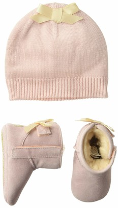 UGG Baby's Female Jesse Bow II and Beanie Boot