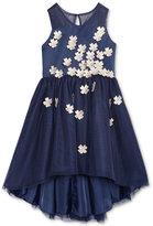 Nanette Lepore Floral Appliquandeacute; Party Dress, Big Girls (7-16)