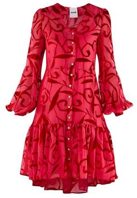 Koché Puffed sleeve dress
