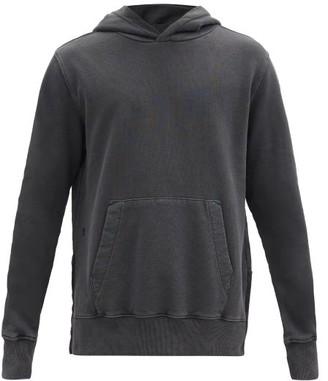 Ksubi Seeing Lines Cotton-jersey Hooded Sweatshirt - Black