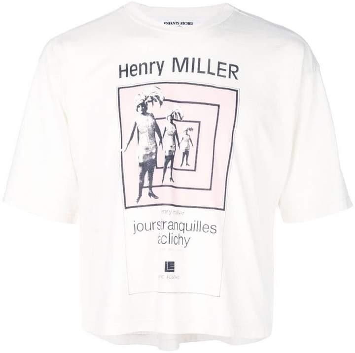 Enfants Riches Deprimes Henry Miller T-shirt