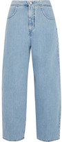 MM6 MAISON MARGIELA High-rise Wide-leg Jeans - Light denim