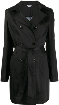 Liu Jo Double-Breasted Belted Trench