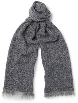 Incotex - Textured Wool-blend Scarf