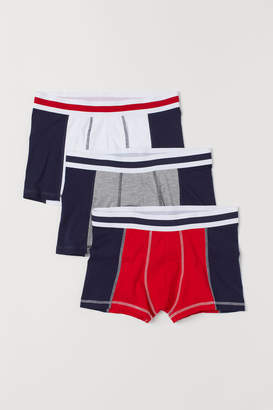 H&M 3-pack Short Boxer Shorts - Red