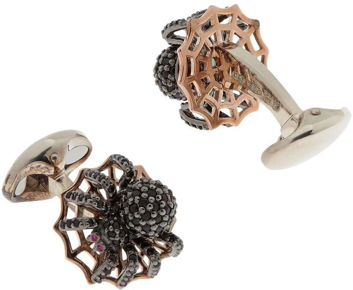 Deakin & Francis Spinel Spider Cufflinks