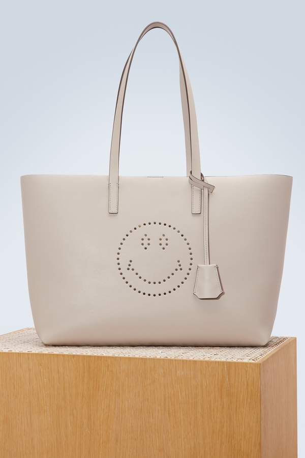 Anya Hindmarch Ebury Smiley shopping bag