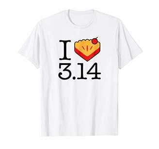 Pi Shirt.Woot: I Heart e) T-Shirt