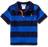 Ralph Lauren Baby Boys 3-24 Months Bold-Striped Polo Shirt