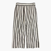 Madewell Huston Pull-On Crop Pants in Stripe