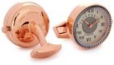 Tateossian Watch Rhodium-plated Cufflinks