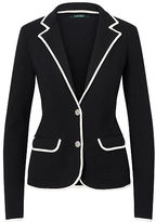 Ralph Lauren Stretch Cotton Sweater Blazer