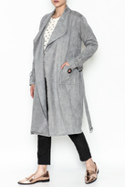 Paper Crane Grey Trench Coat