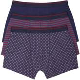 M&Co Geo and stripe print trunks three pack