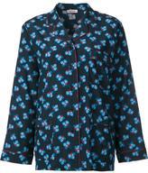 P.A.R.O.S.H. floral pyjama top - women - Silk/Spandex/Elastane - 42