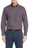 Nordstrom Smartcare TM Regular Fit Check Sport Shirt (Big)