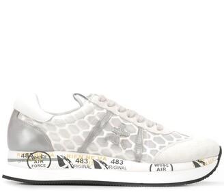 Premiata Conny scale-effect sneakers