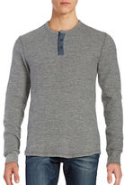 Lucky Brand Thermal Long Sleeved Henley