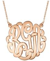 Gem Factor 33mm Monogram Necklace
