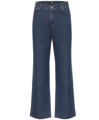 A.P.C. Sailor high-rise straight jeans