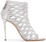 Casadei Gladiator peep toe sandals