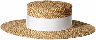 Eric Javits Women's Gondolier-Peanut/White One Size