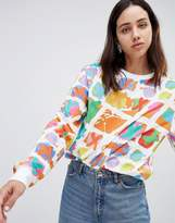 House of Holland Crosstown Printed Long Sleeved Skater T-Shirt