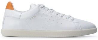Tod's Leather Lace-Up Sneakers