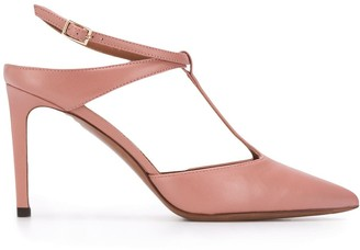 L'Autre Chose pointed toe sandals