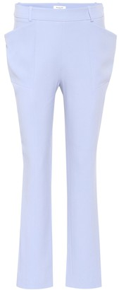 Thierry Mugler Cady crepe trousers