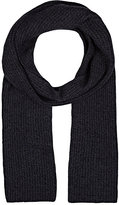 Barneys New York MEN'S RIB-KNIT CASHMERE SCARF
