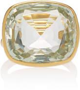 Marie Helene De Taillac Marie-Hélène de Taillac One-Of-A-Kind Green Quartz Princess Ring
