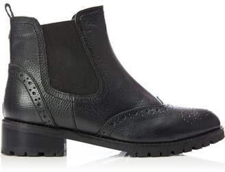 Moda In Pelle Warezzi Black Leather