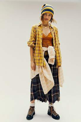 We The Free Tahoe Plaid Buttondown by at Free People