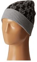 MICHAEL Michael Kors Jet Set Logo with Lurex Cuff Hat