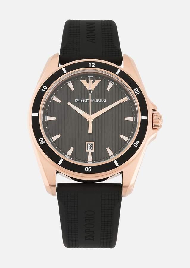Emporio Armani 11101 Watch With Rubber Strap