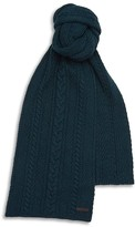 Ted Baker Merino Wool Blend Cable Knit Scarf