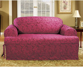 Sure Fit Sure FitTM Scroll Leaf T-Cushion Loveseat Slipcover