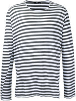 Bassike striped longlseeved T-shirt - men - Cotton - M