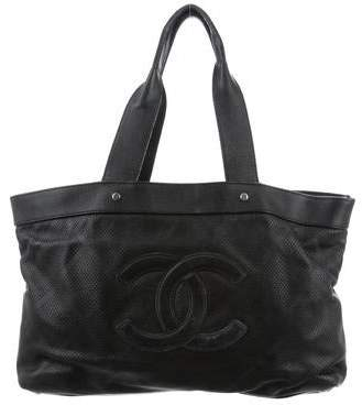 Chanel Perforated CC Tote