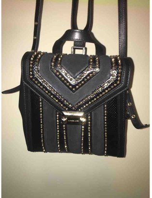 Michael Kors Whitney Black Leather Backpacks