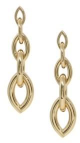 Ettika Gradual Gold Chain Link Earrings