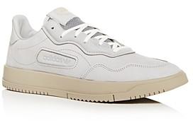 adidas Men's Sc Premiere Nubuck Leather Low-Top Sneakers