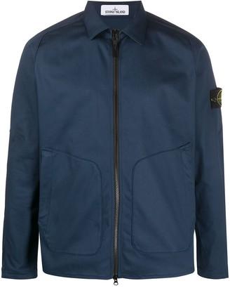 Stone Island Zipped Shirt Jacket