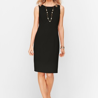Talbots Italian Luxe Knit Sheath Dress - Solid